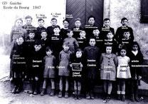 école du Bourg 1947