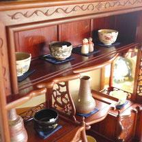 器と珈琲 Lien りあん のギャラリー: 陶器へ