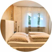 """Räume werden zu Leben bringenden Wohnoasen, weil """"Tanja Sauer - Wohnberatung & mehr"""" nicht nur die Innenarchitektur des Raumes in den Mittelpunkt stellt, sondern auch die Einzigartigkeit der Menschen."""