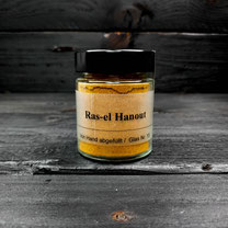 Genuss Hütte, Ras-el Hanout Gewürzzubereitung