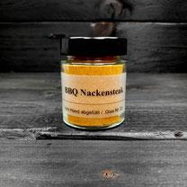 Genuss Hütte BBQ Nackensteaks Rub im Glas