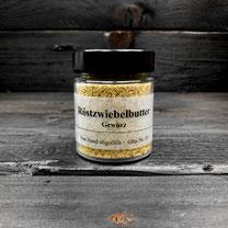 Genuss Hütte Röstzwiebelbutter Gewürz im Gewürz-Glas