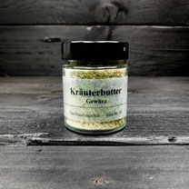 Genuss Hütte Kräuterbutter Gewürz im Gewürz-Glas