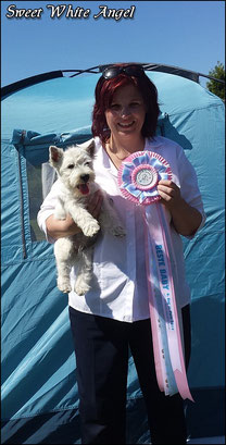 MY ONLY ONE SWEET WHITE ANGEL- VP BEST BABY IN SHOW!!!