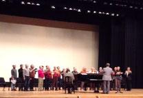 午後の後半はフルトン男声合唱団の指導でした