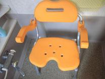 浴室の椅子の写真
