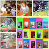 Участники кружка «Юный библиотекарь» подготовили выставку «С Днём рождения, книга-2015!», посвященную Году литературы в России