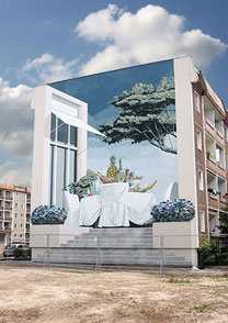Projekte 2010-2019 - Fassadenmalerei Luckenwalde