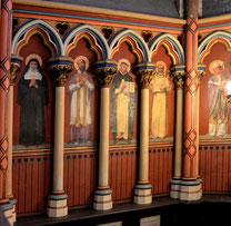 Chapelle du Sacré Coeur- côté gauche
