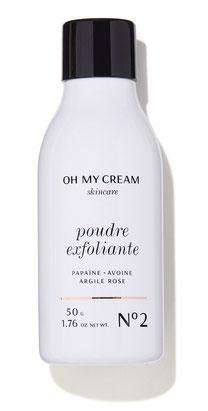 poudre exfoliante oh my cream