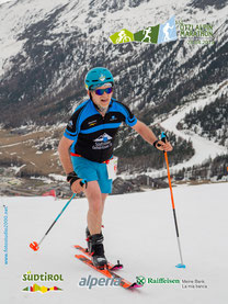 Martin bei der Skitour