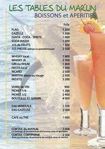 Bar restaurant à Saly Plage - Format A4