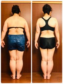 DNAパーソナル痩身 50代主婦 3ヶ月体験結果