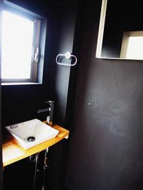 個室用の洗面台