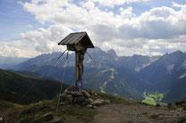 dolomites, fischleintal, snow, mountains, vacation, li