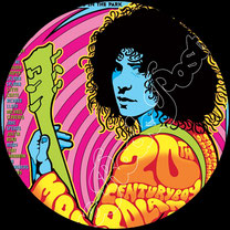 marc bolan, t rex, glam rock, get it on, jeepster, children of revolution, 20th century boy, futuristic dragon