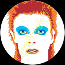 david bowie, ziggy stardust, life on mars, velvet goldmine, glam rock, china girl, ashes to ashes, let's dance