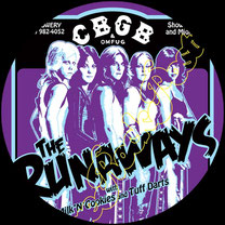 runaways, runaways poster, joan jett, cherie currie, lita ford, sandy west, glam punk, cherry bomb, queens of noise