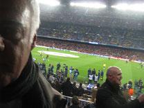Auf Reportage beim FC Barcelona (Camp Nou, Selfie von 2014)