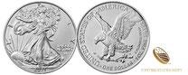 Silber kaufen,American Eagle ,Silbermünze 1 Unze, 2021,2022, silber, adelshaus, us mint