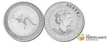 kangaroo, känguru, silber, silver, 2021,2022, perth mint, unze, silber kaufen, adelshaus,