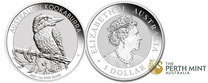 Silber kaufen, Kookaburra,  Silbermünze, 1 unze, australien, perth mint, adelshaus, silber, silver
