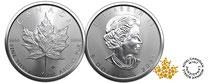 Silber kaufen, Maple Leaf, Silbermünze 1 Unze, ahornsblatt, adelshaus,