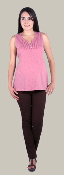 Maternity Top - 3983 Light Pink