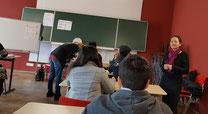 TELC- Prüfung-im Prüfungsraum