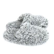 chaussons mules en laine naturelle mouton dessous cuir peau only mouton adulte savate pantoufles blanc beige gris chiné homme femme léger souple lavable machine
