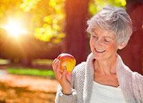 Speisekarte für Senioren