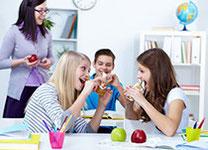 Speisekarte für Schulen