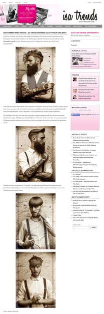 Online Bericht von isatrends.at vom 20.05.2015