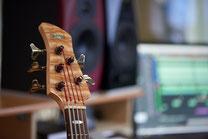 Ringo Studios Bass und Monitore