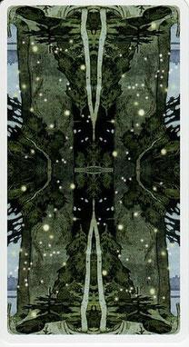 Tarot de la Forêt Magique - dos