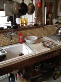 大工さんの家のキッチン