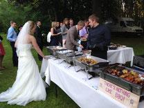 lübeck catering hochzeit fleisch buffet