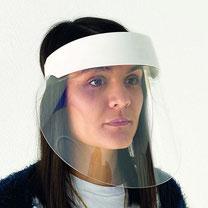 Visière de sécuritè, article 162, FMU GmbH, produits pour la protection de l'hygiène