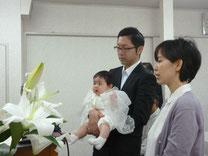 和姉妹  幼児洗礼