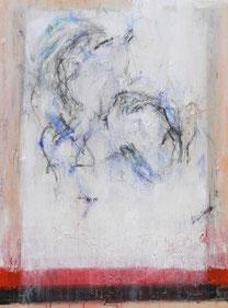 MUTTER & KIND, Mischtechnik auf Leinwand, 60 x 80 cm, 2005