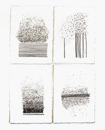 180307-10 - Pierre noire sur papier - 50 x 40 cm