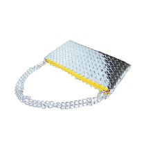 Origami Party Clutch Silver