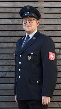 Julius Beeger, Kassierer der Freiwilligen Feuerwehr Steinmark