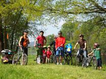 Vallée de la Dordogne, randonnée à vélo, activité familiale, Caracole Nature