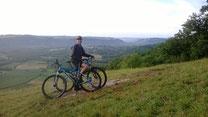 Randonnée VTT, Vallée de la Dordogne, Causse de Martel, moniteur VTT, Caracole Nature
