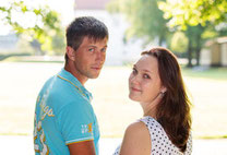 Jeanine & Chris im Schloßpark KW