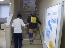 「障害模擬体験」(上越市社会福祉協議会)