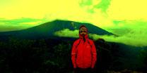 Pinton de La Fournaise 2.632 meters (Reunion Island).