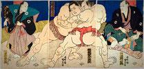 сумоисты Японии