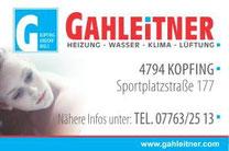 Installateur Gahleitner, Kopfing